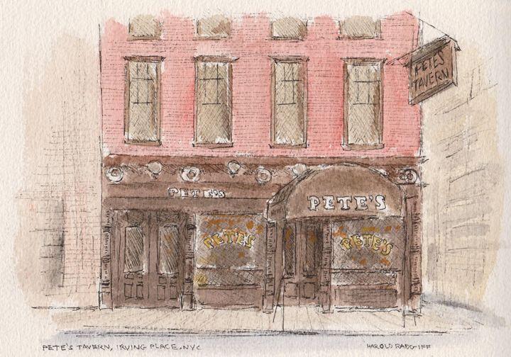 Pete's Tavern - Harold Radgiff