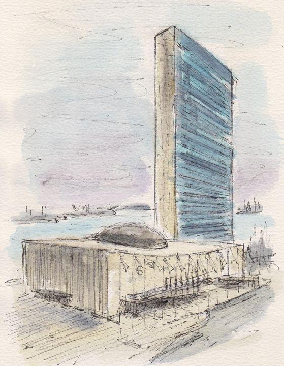 United Nations - Harold Radgiff