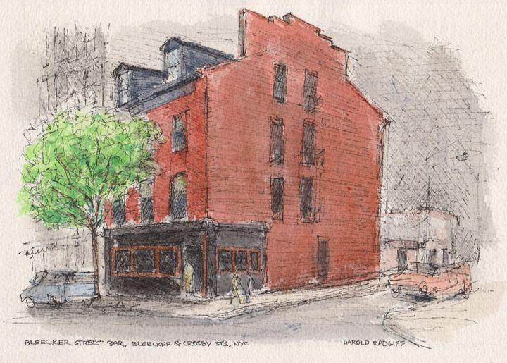 Bleecker Street Bar - Harold Radgiff