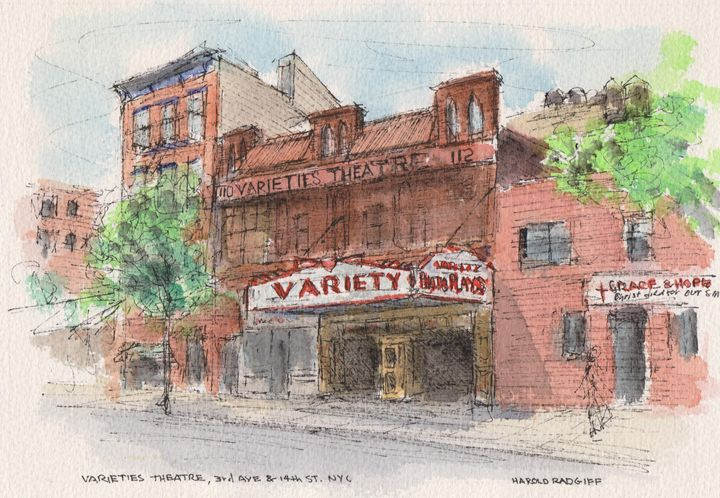 Varieties Theatre - Harold Radgiff