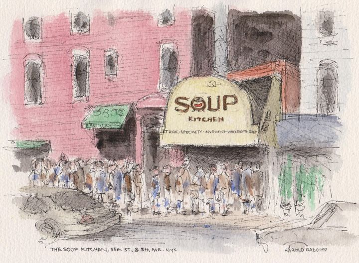 The Soup Kitchen - Harold Radgiff