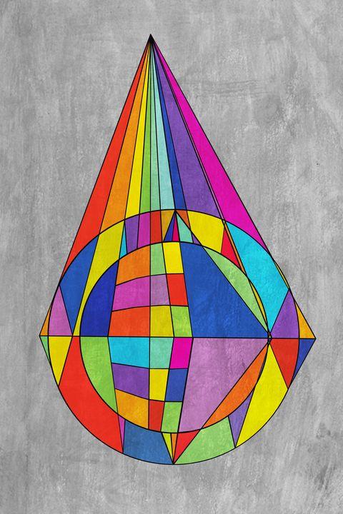 Geometric Rainbow - Bethany Dameron