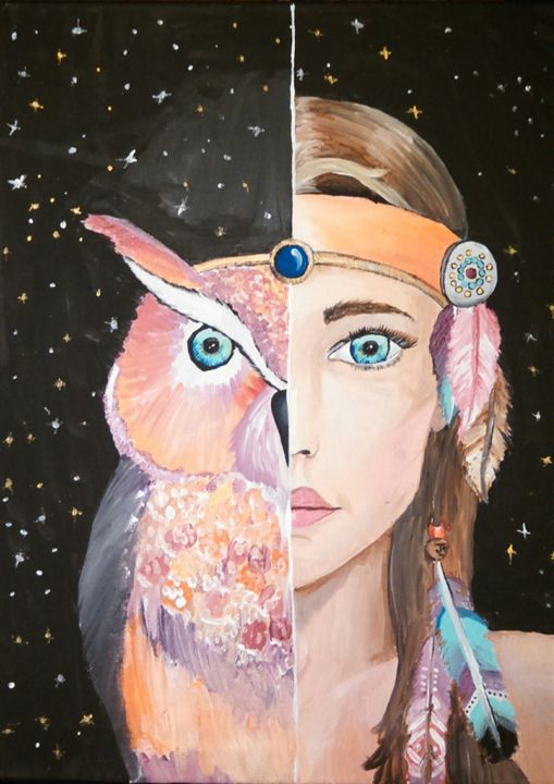 Night Owl - Grace Baldwin Art