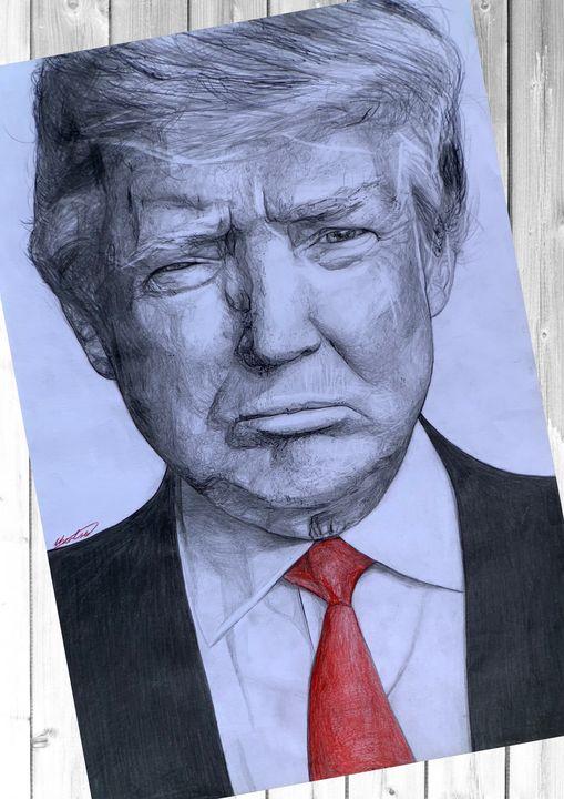 President Donald Trump - ChaneART