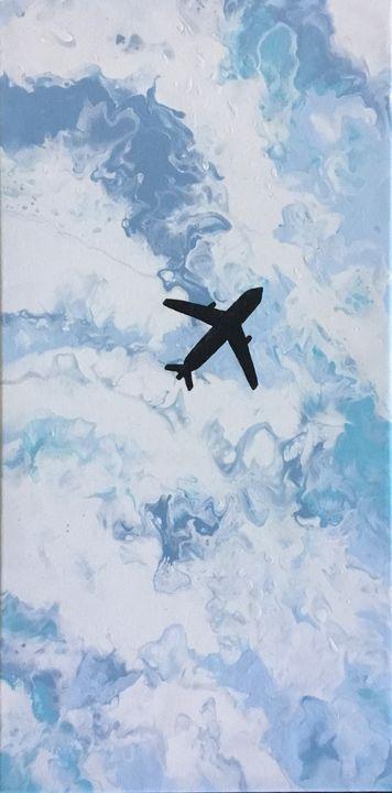 In flight - Elizabeth's Gallery of Artwork