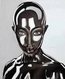 Alina Alien-oil painting on canvas