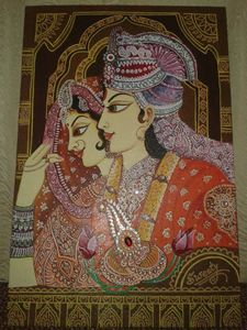 Traditional Bride and Groom Art