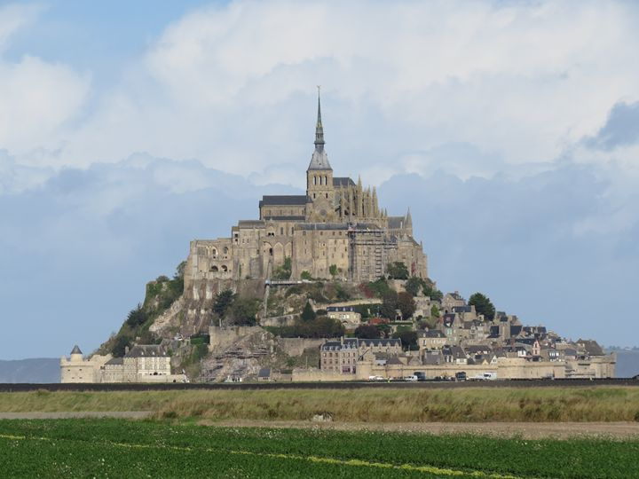 Mont-Saint-Michel, France - Claude Chapdelaine Fine Arts