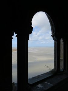 Mont-Saint-Michel, Beach Low Tide