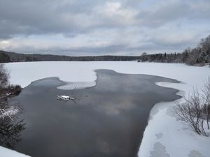 The Thawing of a Lake