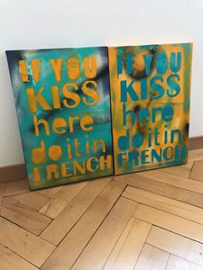 If you kiss here do it in french