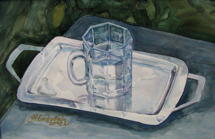 Glass of water - Artworks by Slobodan Z. Bozovic