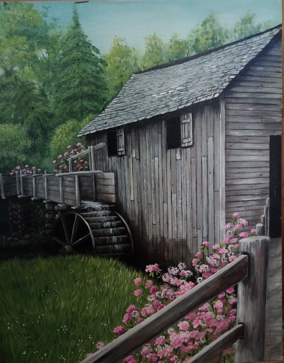 The Old Mill - S.Cooper Arts