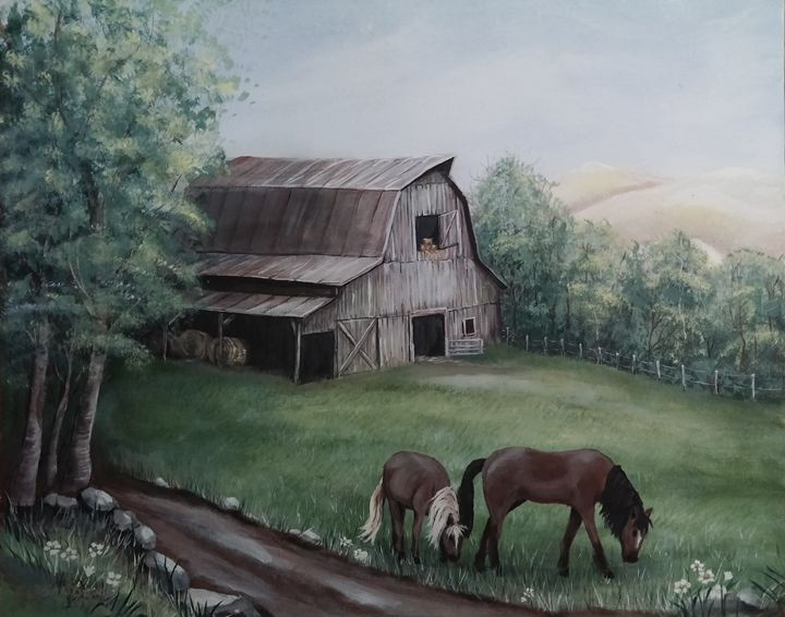 Old Posey Barn - S.Cooper Arts