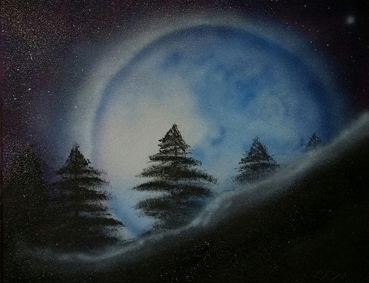 blue moon - Christopher Morgan Designs