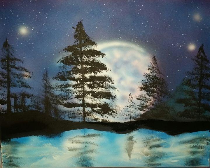 moonlight bliss - Christopher Morgan Designs