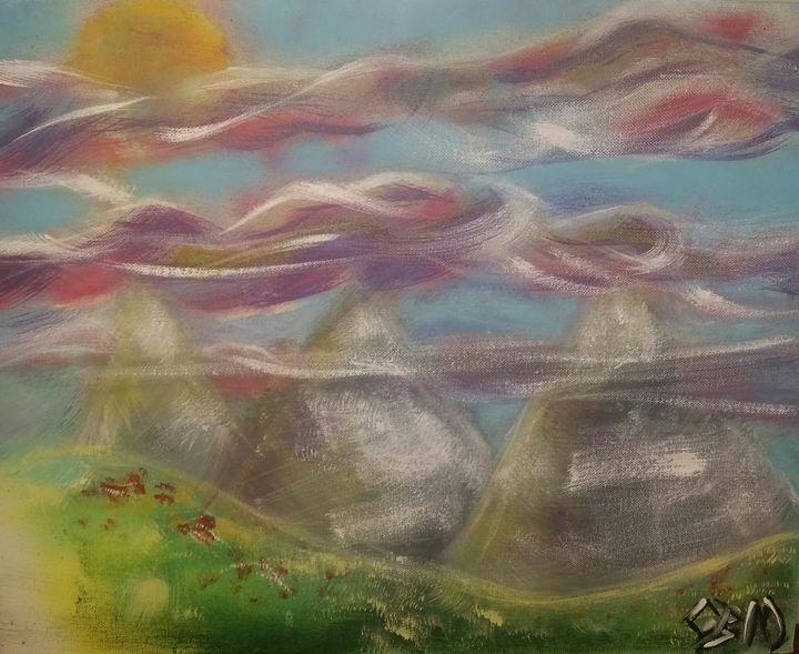 whisking mountains - Christopher Morgan Designs