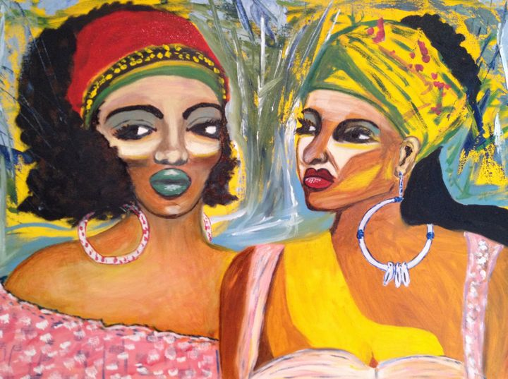 Caribbean Ladies - Impress Art 11 (BB)