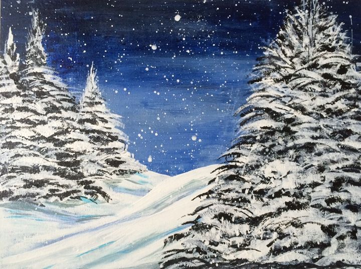SOLD - Silent Night - Impress Art 11 (BB)