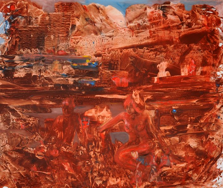 Red Planet - YUKSEL AYDIN PAINTINGS