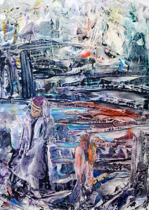 Technology and Man - YUKSEL AYDIN PAINTINGS