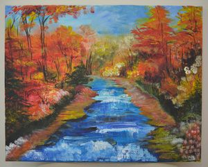 Late Fall in New England (sold)