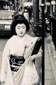 Young Apprentice Geisha N.1, 2018