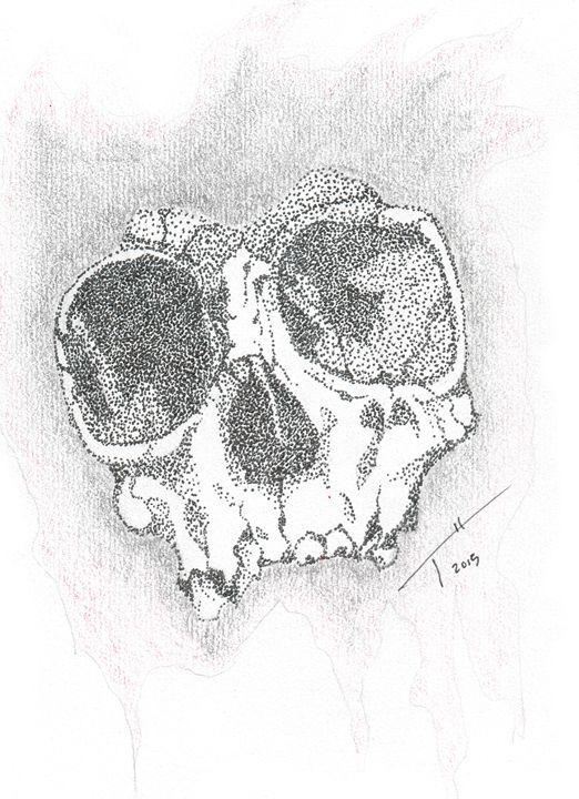 Skull (Prints) - Tory Andrew Hurtado