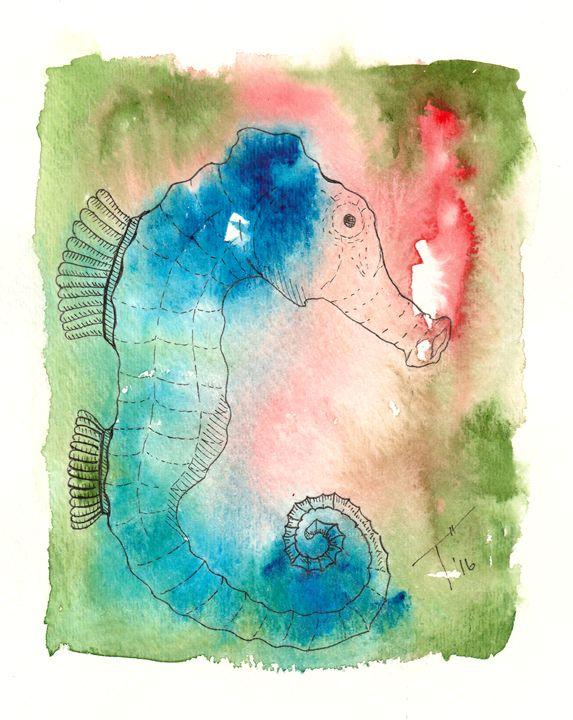 Sea Horse (prints) - Tory Andrew Hurtado
