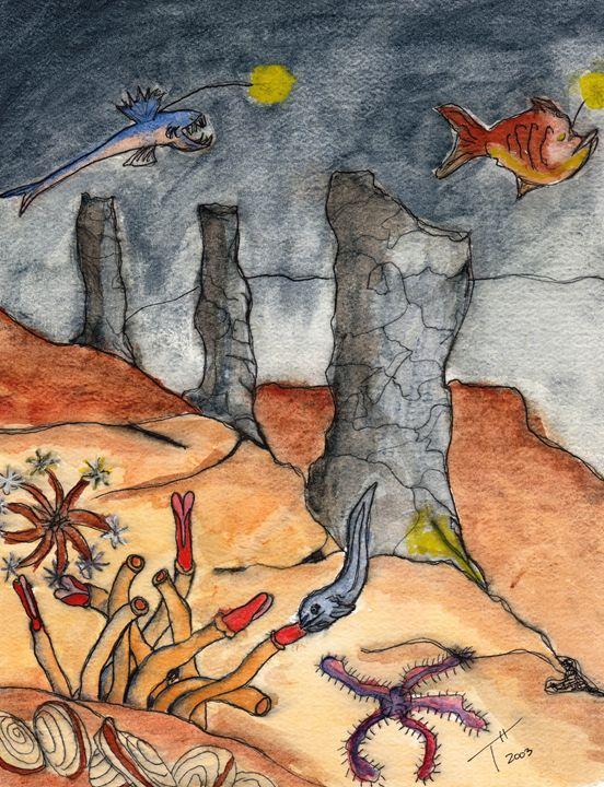 Sea Deep (Prints) - Tory Andrew Hurtado