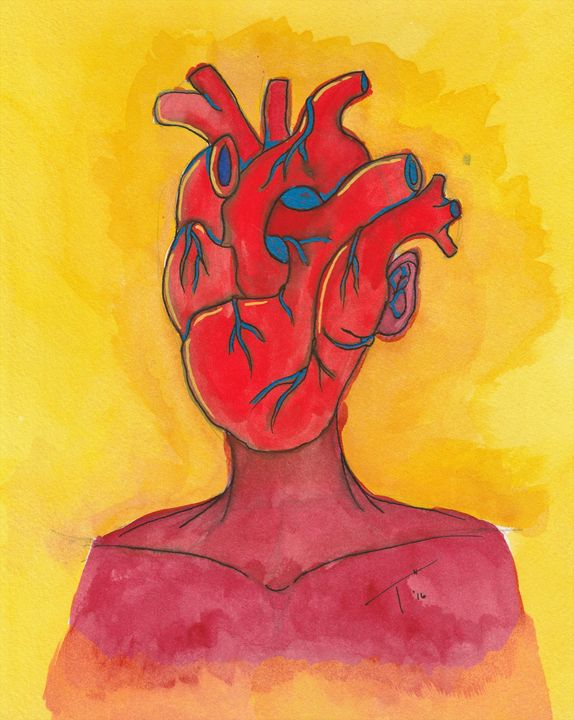Hearts and Minds II (Prints) - Tory Andrew Hurtado