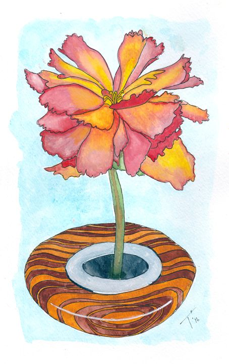 Pink Poppy(prints) - Tory Andrew Hurtado
