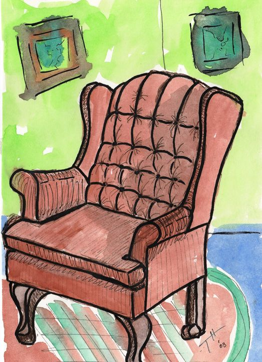 Sketchbook Chair - Tory Andrew Hurtado