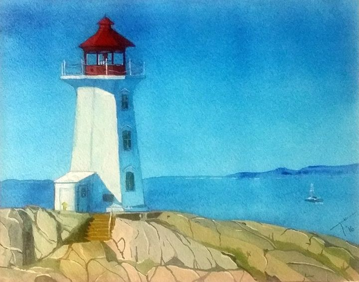 Lighthouse (prints) - Tory Andrew Hurtado