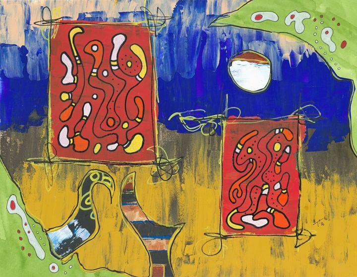 Landscaped Reds - Tory Andrew Hurtado