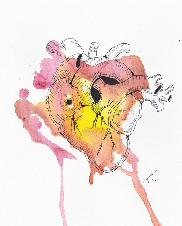 Hearts Eye (prints) - Tory Andrew Hurtado
