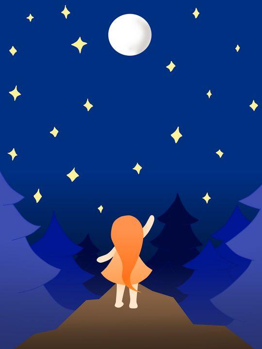 The Starry Night - Mushy Marshmellow