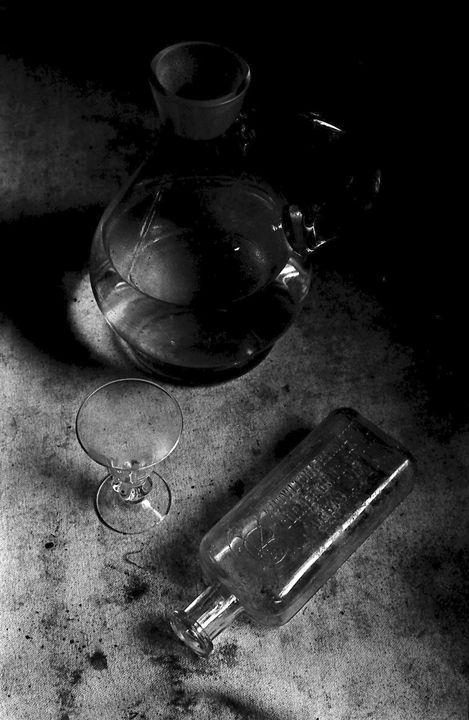 """""""Still Life with Glass. study 2"""" - Lyoshastudio"""