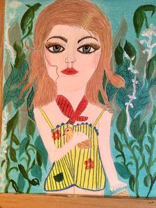 girl in the beanstalk