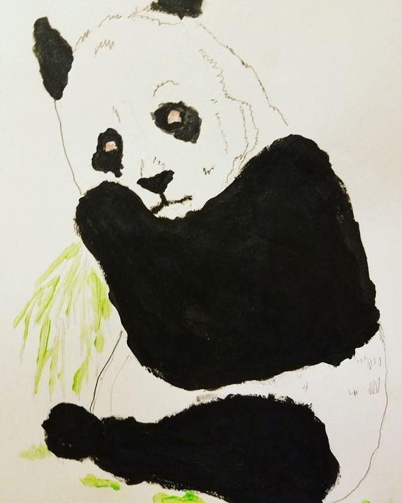 Panda - Malcolm's Art