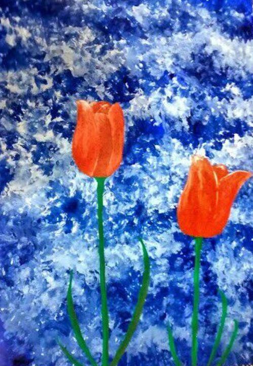 Tulip painting - Rajni