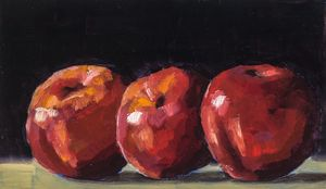 Apples! - Abbey Wineglass, an Artist