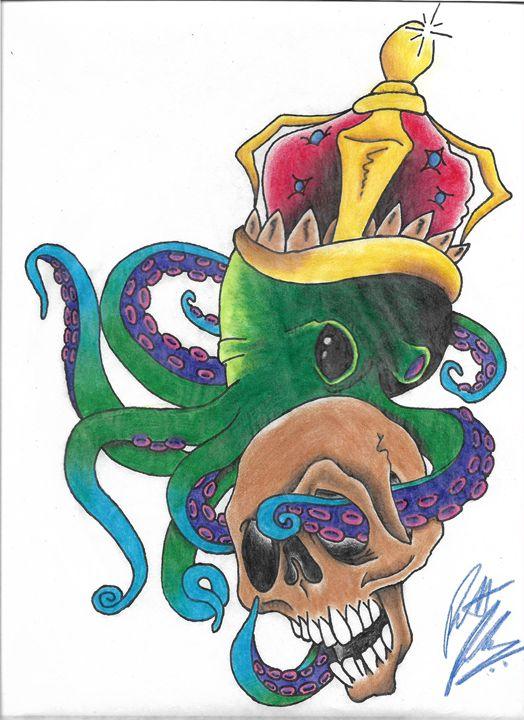 King Octo - KoolK1d Tattoo Designs
