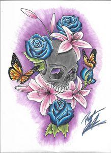 Beautiful Death - KoolK1d Tattoo Designs