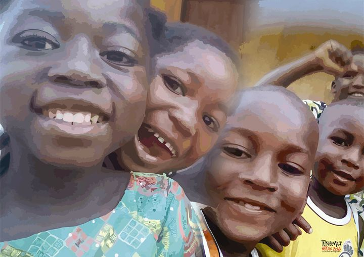 AFRICAN CHILDREN. - TUNSMAG STUDIO