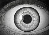 realistic handmade eye drawing