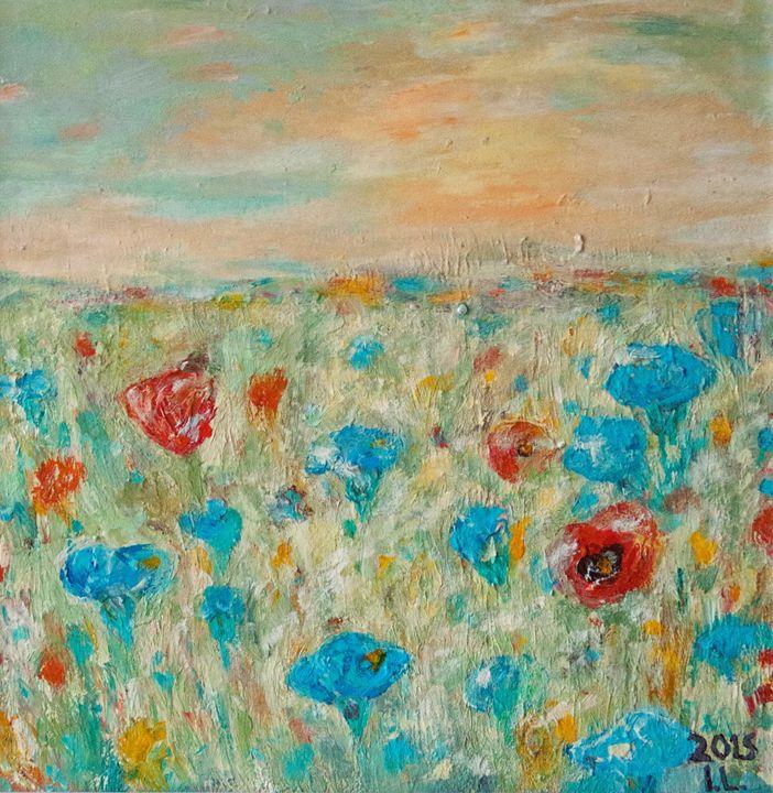 After rain. Provence - ArtBonBon Inga Leitasa