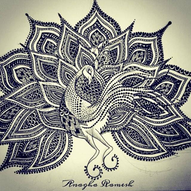 The Peacock - Anagha Ramesh
