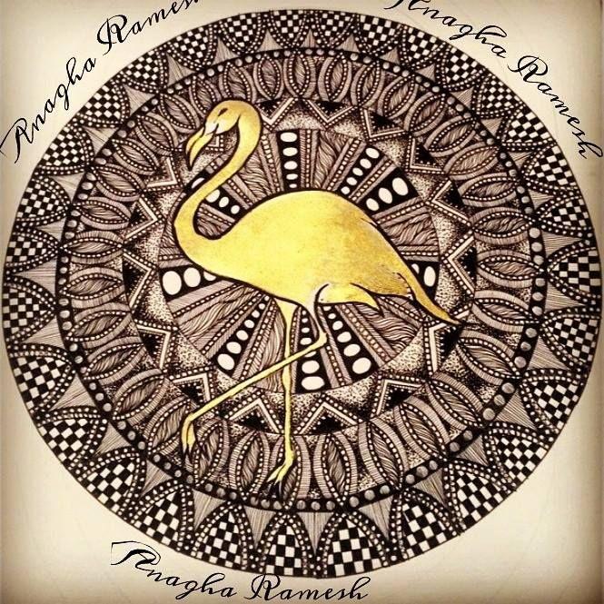 The golden Flamingo - Anagha Ramesh
