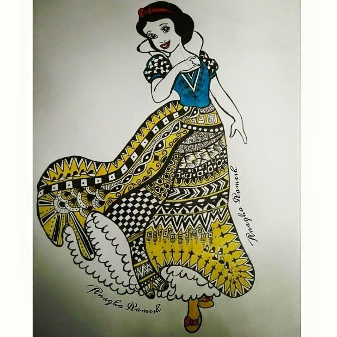 Snow White - Anagha Ramesh
